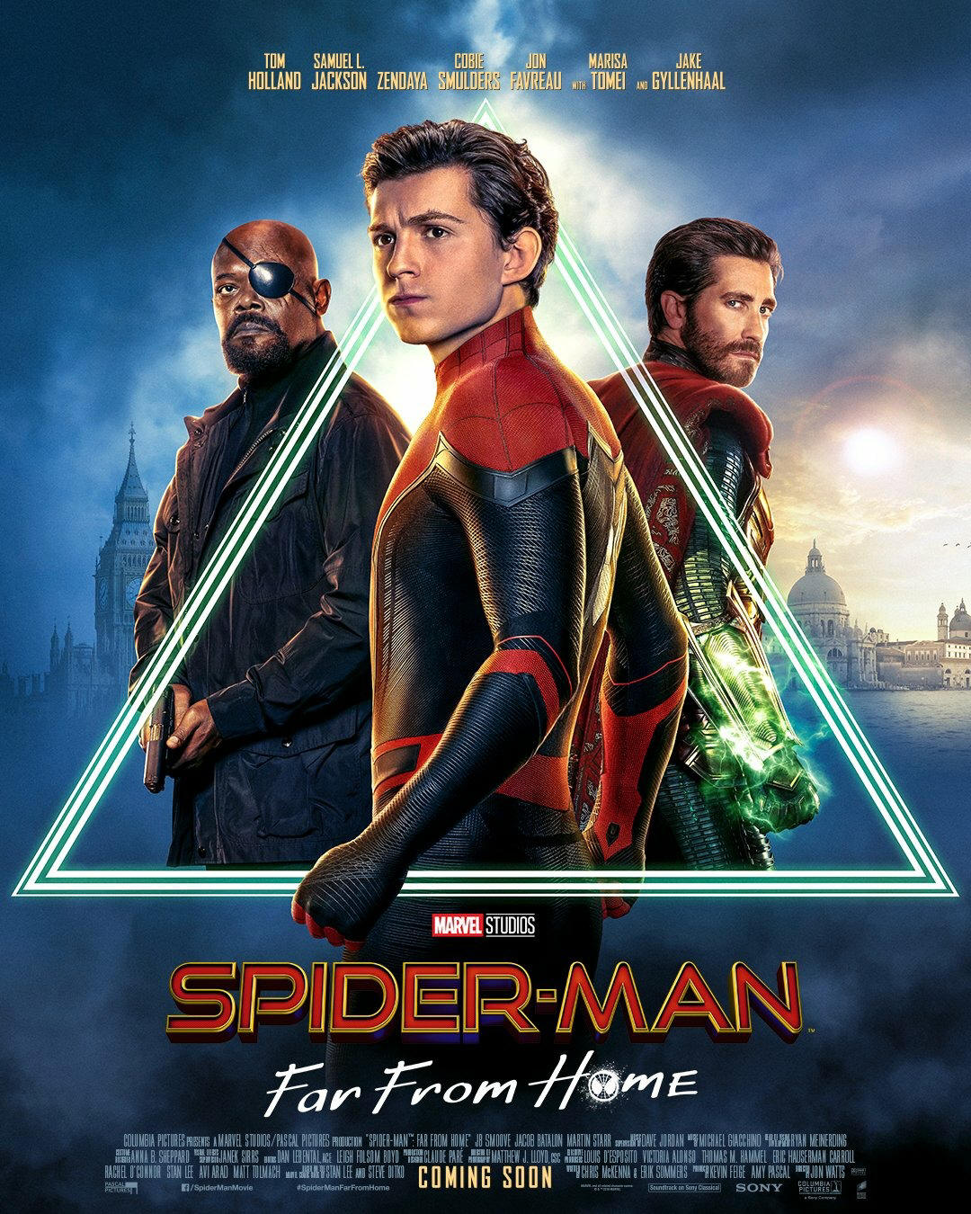 Image result for spider-man far from home poster